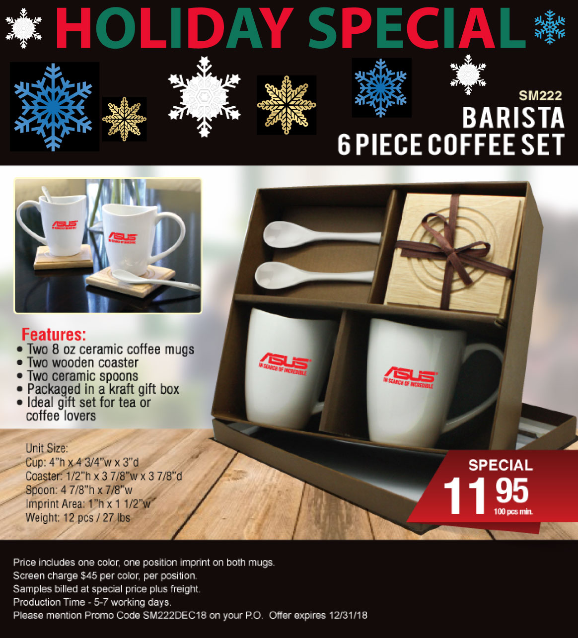 Barista Set Holiday Special